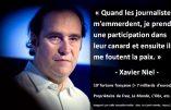 Les relations entre médias et haute finance en une citation de Xavier Niel