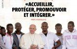 Un énième message immigrophile du pape pour la Journée mondiale pour la paix 2018