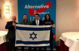 """L'AfD et le sionisme : """"Israël est notre avenir !"""" (sic)"""