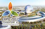 Le message version New Age du pape François pour l'Expo 2017 d'Astana la maçonnique
