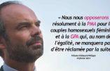 Édouard Philippe annonce la PMA pour toutes les femmes