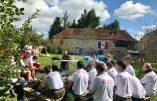 """Reportage – Camp d'été France Jeunesse Civitas, promotion """"Saint Michel"""""""
