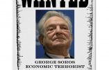 Une pétition américaine réclame de classer George Soros terroriste et de saisir ses biens