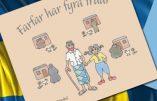 Multiculturalisme : «Grand-père a quatre femmes», livre pour enfant suédois