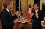L'intervention télévisée d'Emmanuel Macron: un film publicitaire