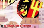 13 janvier 2018 à Genève – Résistance Helvétique inaugure son nouveau local