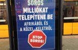 Nouvelle campagne anti-Soros – La Hongrie ne veut pas devenir l'Afrique