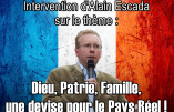 Venez écouter Alain Escada à la Fête du Pays réel ce samedi 24 mars 2018 à Rungis