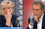 """Marine Le Pen: """"Dans le quartier de Redouane Lakdim à Carcassonne, les policiers ont été pris à partie par des jeunes qui chantaient sa gloire!"""""""