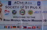 Mission Rosa Mystica aux Philippines – avril 2018
