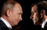 Poutine s'insurge contre la manipulation de l'information par le gouvernement de Macron