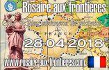 Le Rosaire aux frontières sera aussi prié à Lourdes