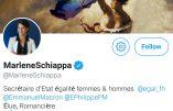 Marlène Schiappa remplace le drapeau français par celui du lobby LGBT