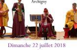 22 juillet 2018 à l'Abbaye de l'Etoile (Archigny) – Musique et danses médiévales