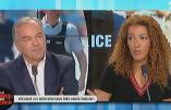 Fatima Aït Bounoua constate que la télé cache les violences qui suivent les victoires des Bleus