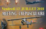 13 juillet 2018 – Meeting aérien à Plivot (Marne)