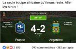 Coupe du Monde : les Bleus considérés comme la dernière «équipe africaine»
