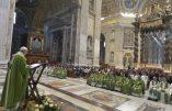 La messe pontificale pour les migrants: l'impératif de l'accueil
