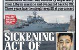 Le terroriste de Manchester avait été sauvé par la Marine britannique !