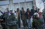 Grèce – Emeute d'immigrés parce que la connexion internet est insuffisante à leur goût !