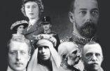 Le sceptre et le sang : rois et reines dans la tourmente des deux guerres mondiales (Jean des Cars)