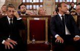 Macron assiste à une cérémonie à la Synagogue pour le nouvel an juif