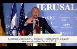 """Enquête (2) C'est au """"Jerusalem Leaders Summit"""" qu'a été imaginé """"The Movement"""" présidé par Mischaël Modrikamen, ex-président de la synagogue libérale de Bruxelles"""