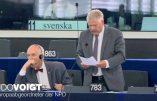 """Le Parlement Européen refuse la minute de silence pour """"toutes les victimes de la terreur multiculturelle"""" proposée par l'eurodéputé Udo Voigt"""