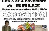 3 & 4 novembre 2018 à Bruz (Bretagne) – Expo «Armée française : un siècle de conflits»