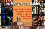 1er décembre 2018 – Souvenons-nous des Martyrs vendéens des Sables-d'Olonne