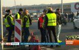 """Belgique – Les Gilets Jaunes devant les centres commerciaux ce """"Black Friday"""""""