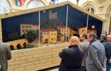 La crèche de Noël de Béziers déplacée de 12 mètres