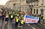 """Lyon – Gilets Jaunes contre le """"Pacte de Marrakech"""""""