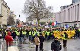 Acte X à Caen : aux moins deux mille gilets jaunes