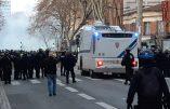 Acte X à Toulouse – Affrontements en cours