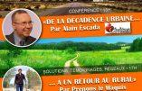 16 février 2019 à Toulouse – De la décadence urbaine à un retour au rural