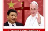 2 février 2019 à Paris – L'accord Chine-Vatican : quel sort pour les catholiques chinois ?