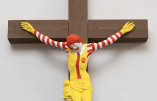 Christianophobie en Israël : un McDonald's «McJésus» crucifié