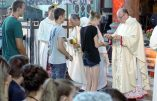 Précisions au sujet de l'arrivée de l'évêque moderniste Mgr Huonder dans une école à la FSSPX