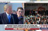 Le discours de Trump à la Marche pour la Vie de Washington
