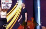 """Action """"Non à l'Eurovision en Israël"""" en direct sur France 2"""