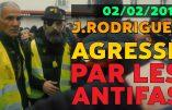 Vidéo de l'agression de Jérôme Rodrigues par les antifas durant l'acte XII