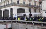 Acte XVIII à Paris en direct : premiers heurts entre gilets jaunes et policiers