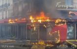 Acte XVIII à Paris – Le Fouquet's pillé puis incendié