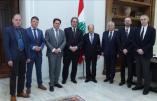 Le président du Liban reçoit une délégation de représentants nationalistes européens