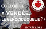 Le génocide vendéen présenté au Parlement européen par Civitas – Explications d'Alain Escada sur Radio Courtoisie