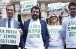 La légitime défense reconnue par la loi. Salvini: «Très beau jour pour les Italiens»