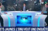 """Même l'ONU contredit Macron et dénonce les dérives """"extrêmement graves"""" à l'encontre des gilets jaunes"""