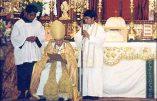Profession solennelle de Foi de Mgr Lazo adressée au pape Jean-Paul II