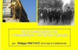 6 avril 2019 – De la condamnation à la réhabilitation de l'Action Française – Conférence de Philippe Prévost